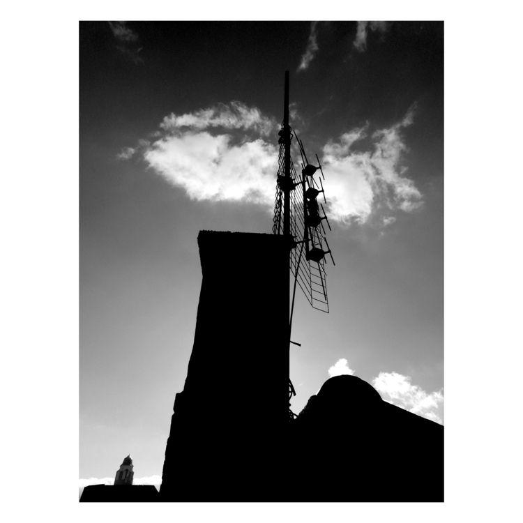 Spot Tower - bw, bnw, blackandwhitephotography - brthelemy   ello