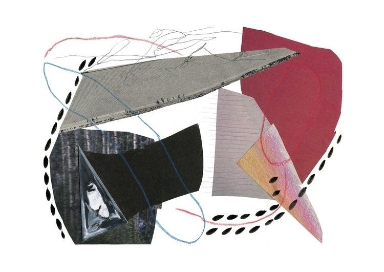 illustration, art, collage, indianink - notjoana | ello