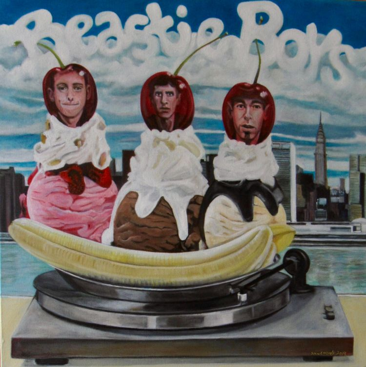 Beastie boys, cherries top. Oil - innamoratoart | ello