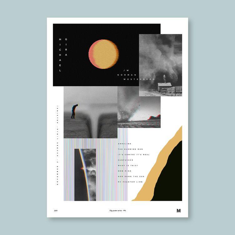 Gig poster project - Michael Gi - mcinen | ello