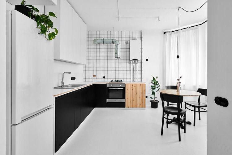 Flat case study minimalism budg - minimalissimo | ello
