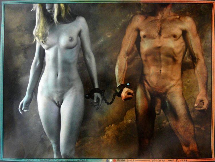 Jan Saudek, Chains love 1994.  - romporn | ello