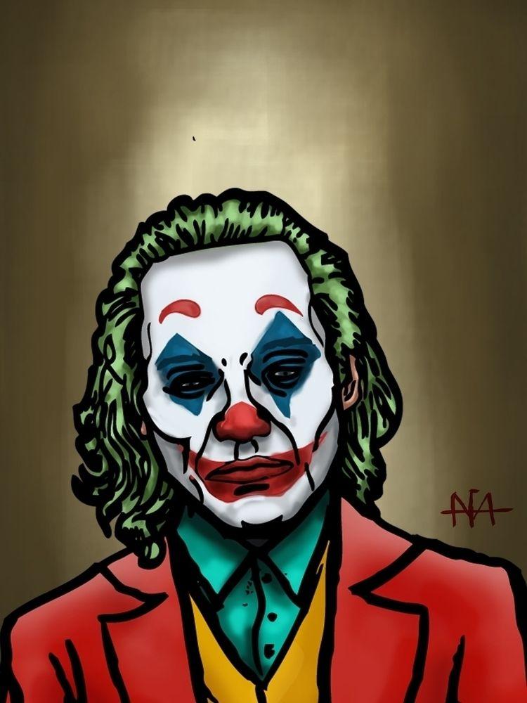 Joker illustration (digital pai - afavasquez | ello