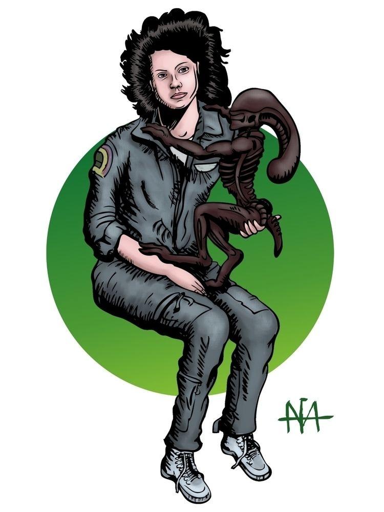 Mother Ripley. intense relantio - afavasquez | ello