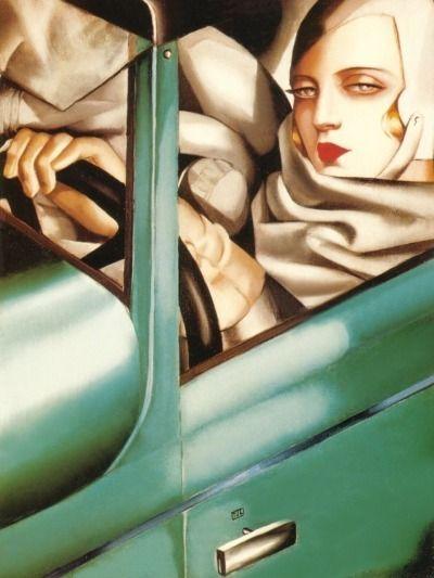 Portrait Tamara de Lempicka 192 - illustrarts | ello
