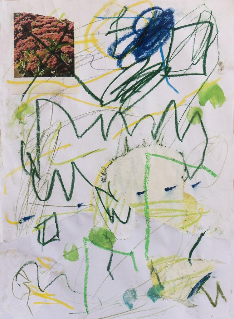 Interdit Aux Fleurs. 2019 - art - stephanesalvi   ello