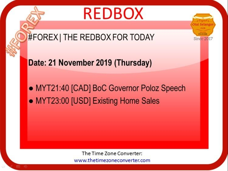   REDBOX TODAY Date: 21 Novembe - otaiselangor   ello