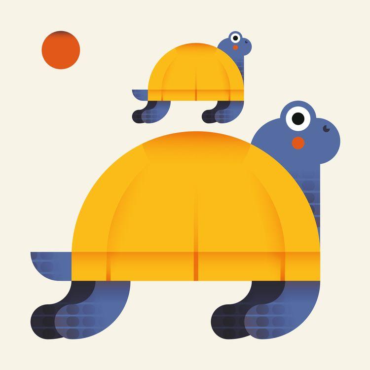Tortoise hatching community :tu - chiara_morra | ello