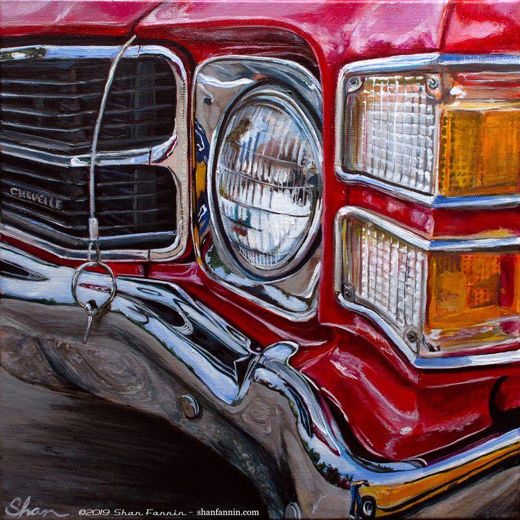 """1971 Chevrolet Chevelle"", 12″x - shanfannin | ello"
