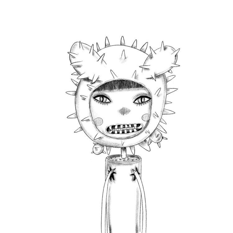 Cactus 🖤 De la serie INOCENCIAS - ziggyk | ello