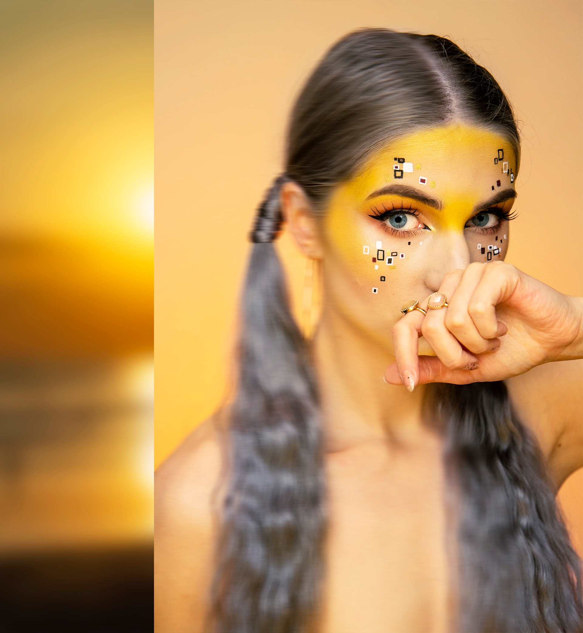 Make-up inspirowany twórczością artysty: Gustav Klimt