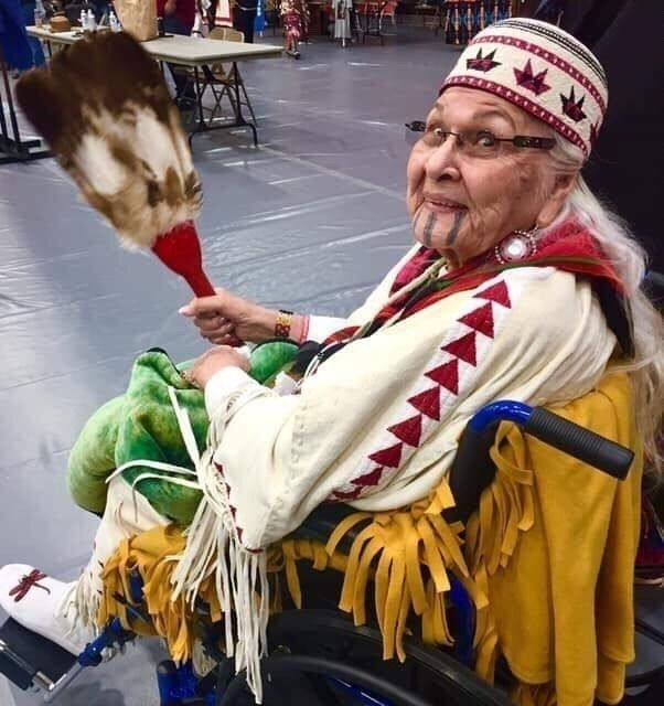 Grandma Aggie, Takilma tribe - raymondmedicineelk1   ello