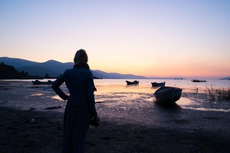 lake Bafa - sunset - pierrebeauregard | ello