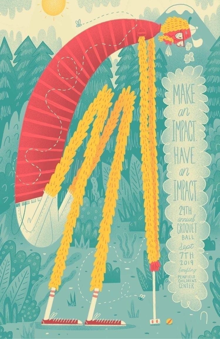 Impact, Impact Poster illustrat - jefflowryillo | ello