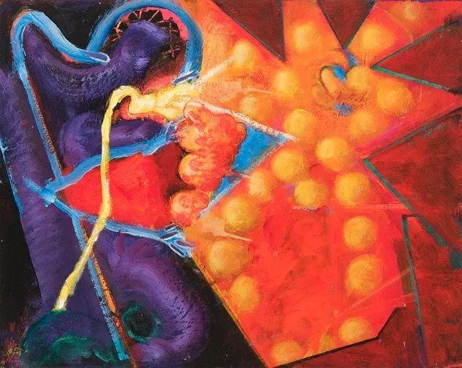 William Scharf - Abstract Expre - expositionartblog | ello