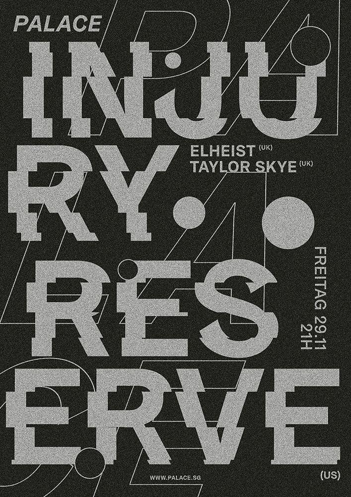 poster Injury Reserve , live Pa - jeromebizien | ello