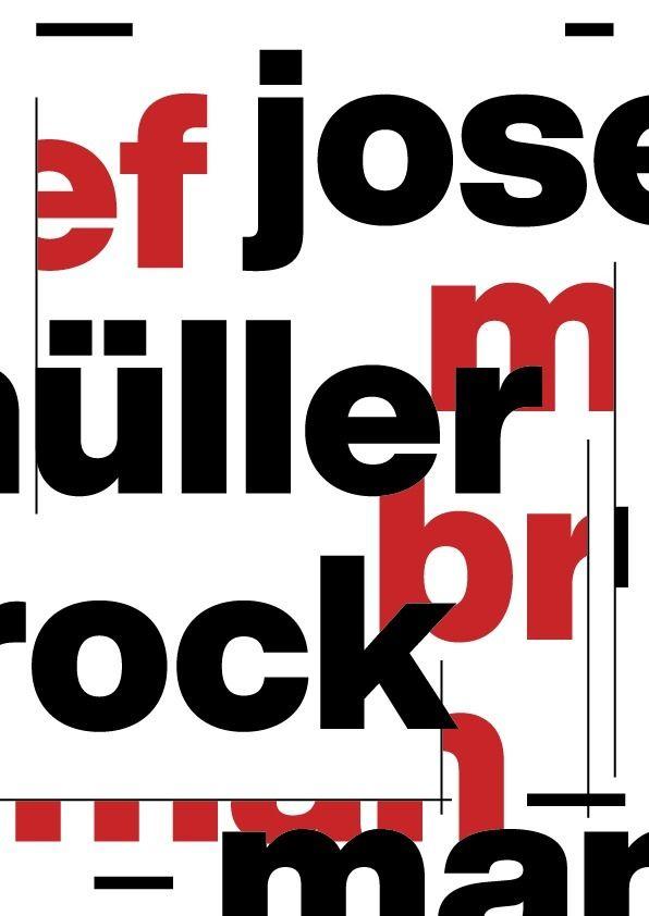 Josef Müller-Brockmann - twoninedesign | ello