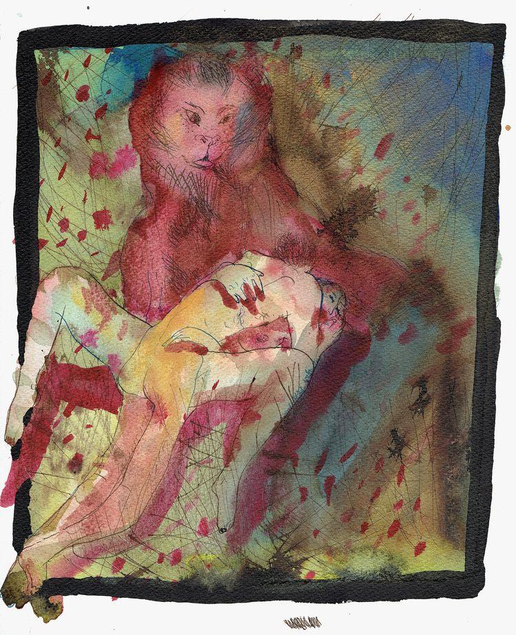 illustration, erotism, erotic - antoninguillot | ello