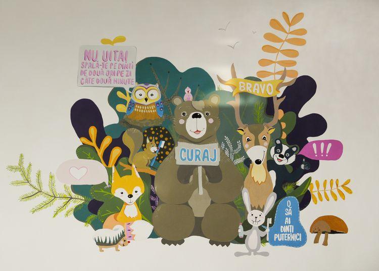 Mural Painting Ari Dent/ Cabine - alinabradu | ello