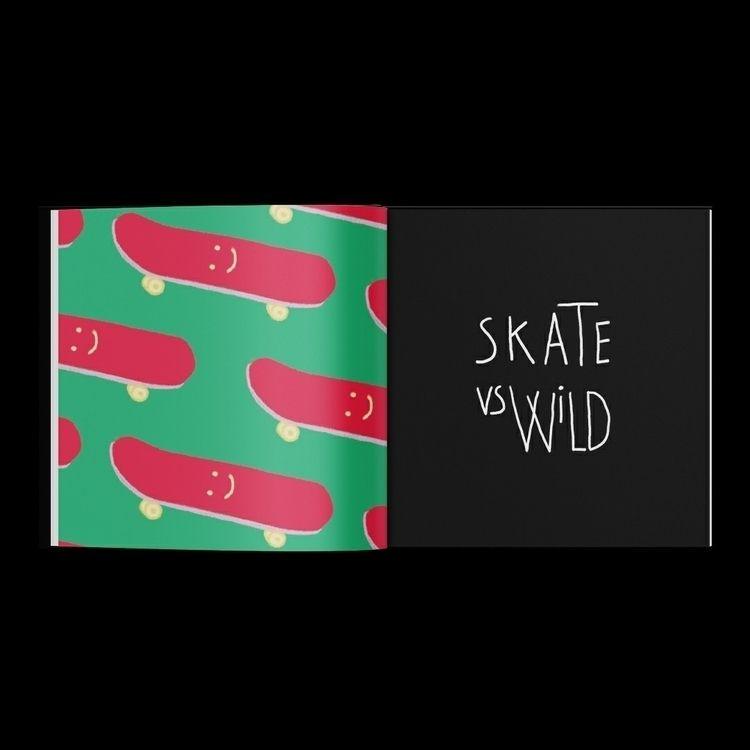 SKATE WILD ⁕ 2019 - graphicdesign - chihipso | ello