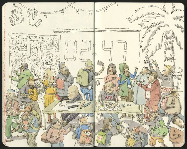 2 reached Illustrated World Ser - mattiasadolfsson | ello