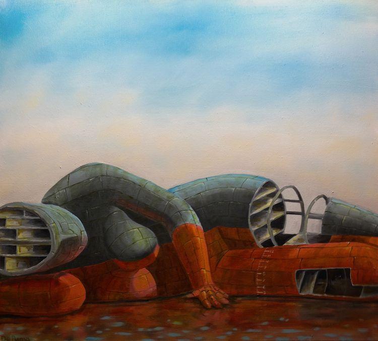 Shipbreaker series. Oil canvas - joolz8000   ello