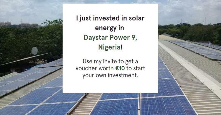 ~ Nigeria TRINE 2 - invested, SolarEnergy - lennarrrt | ello