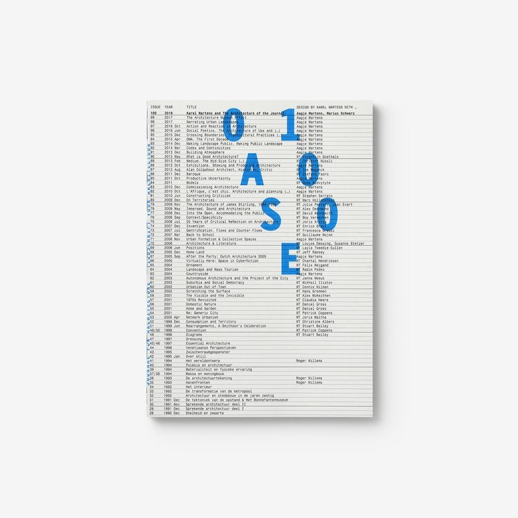 Oase 100: Architecture Journal  - northeastco | ello