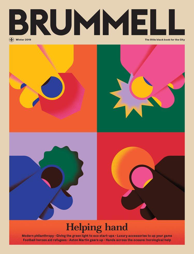 Helping hand, Brummel magazine  - alconic | ello