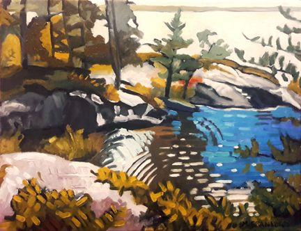 Gull Island Rise, oil canvas, 9 - markgranlund   ello