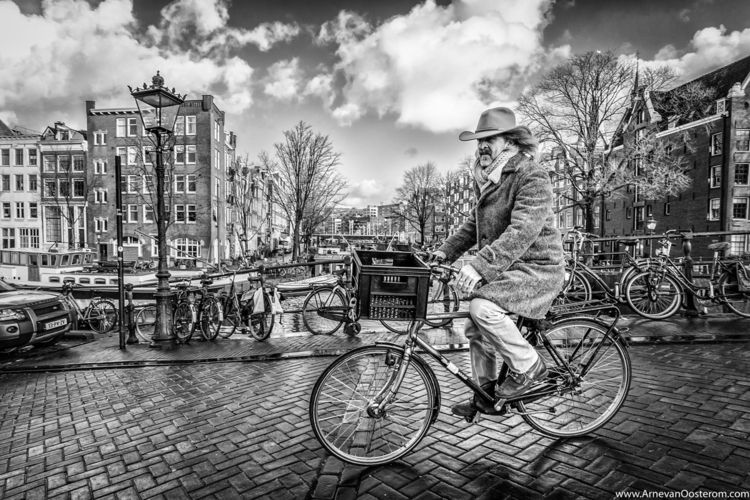 Amsterdam Cowboy - streetphotography - arnevanoosterom | ello