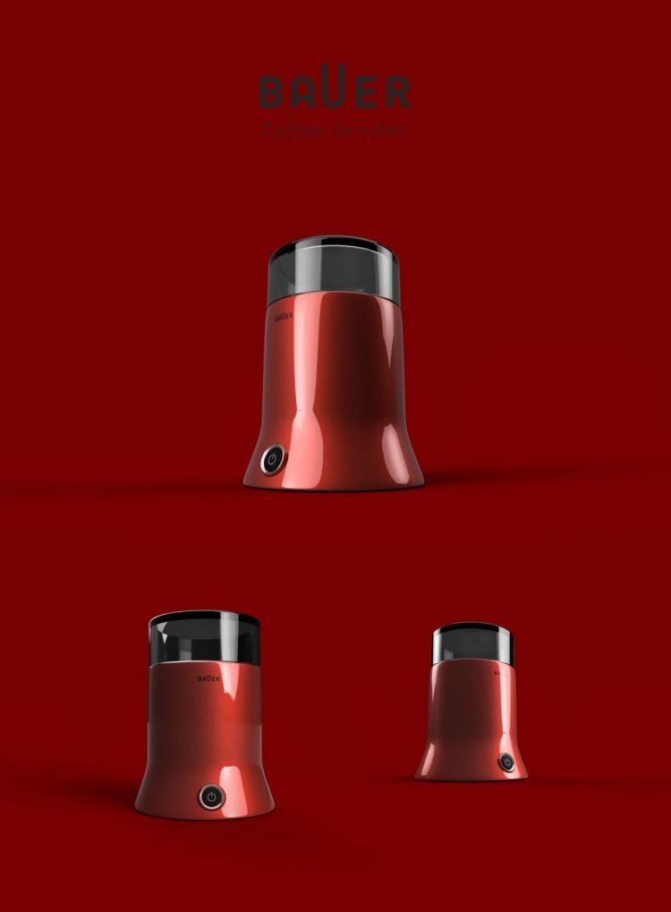 BAUER Coffee Grinder - concept, industrial - emrahserdaroglu | ello