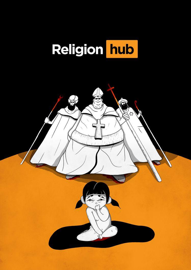 Religion hub - drawing, religion - selametalkan   ello