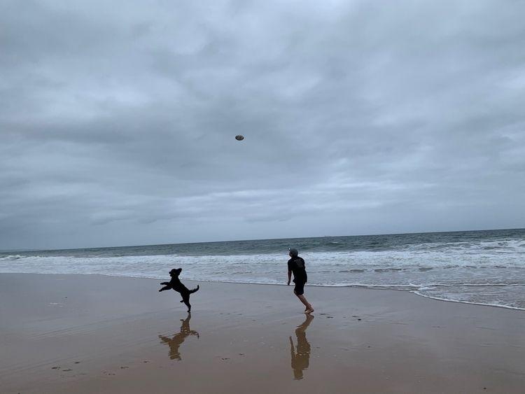 Beach footy - beach, photography - elkemichelle   ello