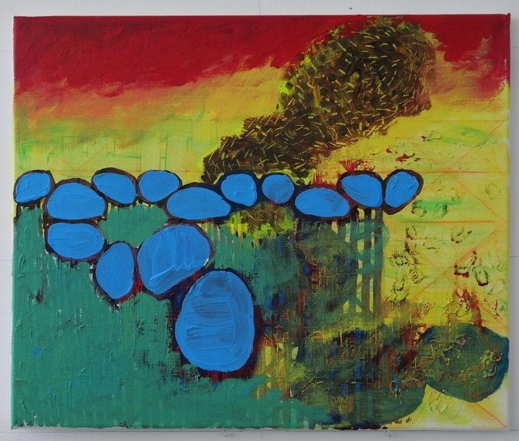 BEM19#25, 2019, acrylic canvas - stevelamboo | ello