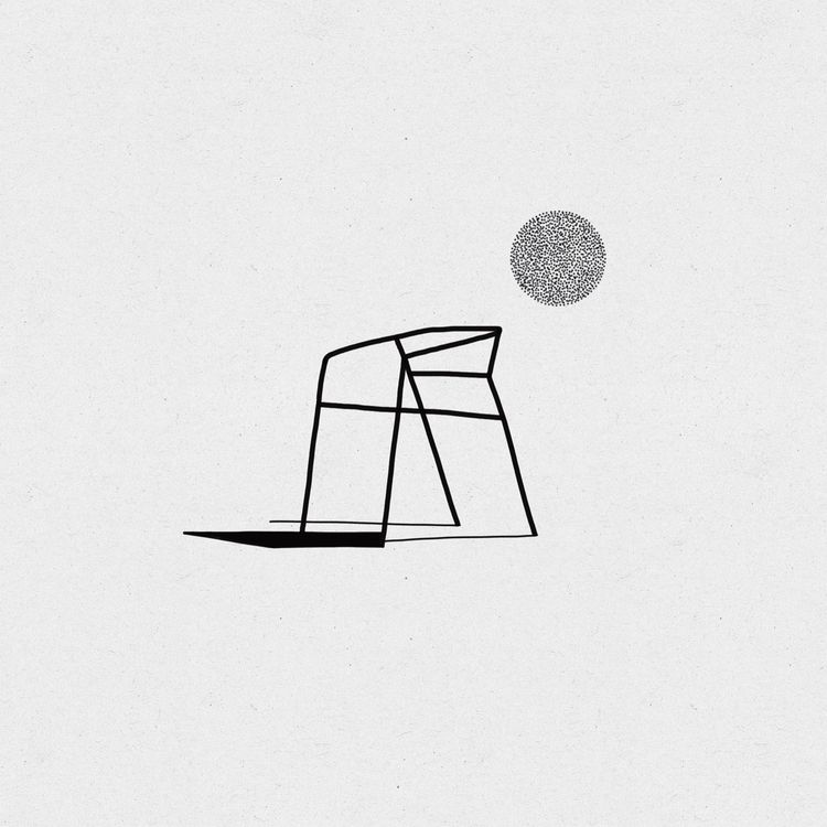 simple chair Chairfamily.  - bauhaus - modulschwarz | ello