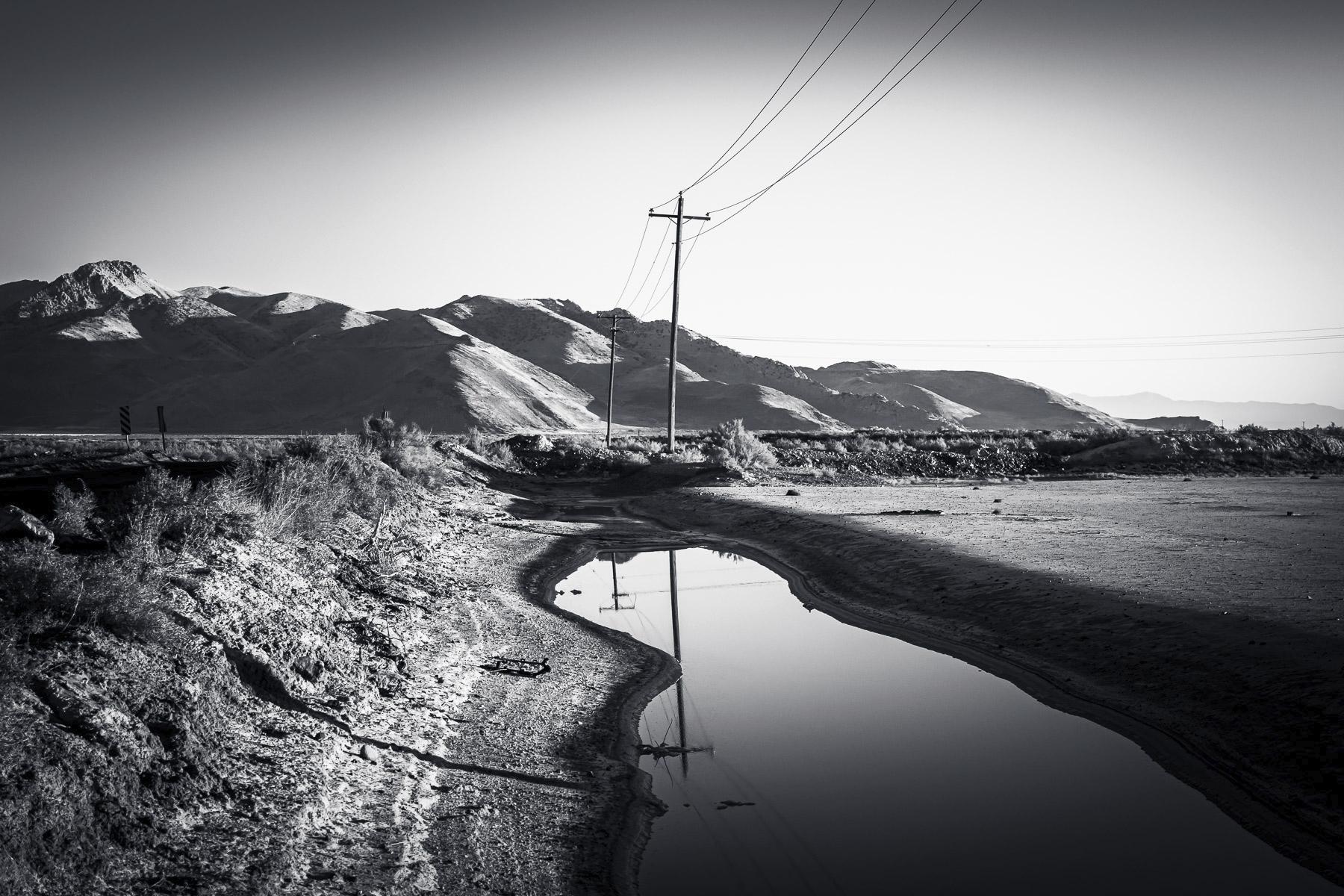 Bringing Electricity Desert Pow - 75centralphotography | ello