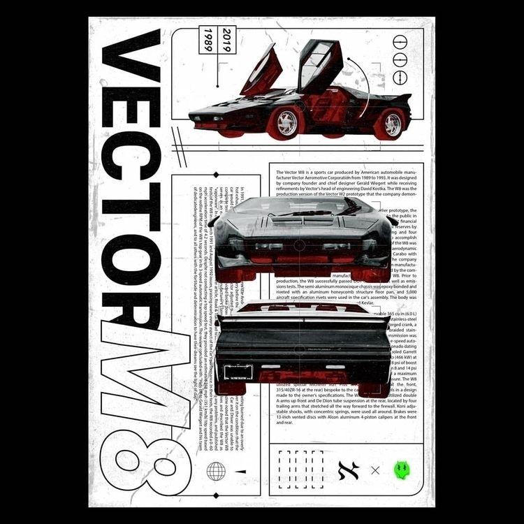 Vector M8 / collab project - graphicdesign - sebastiien | ello