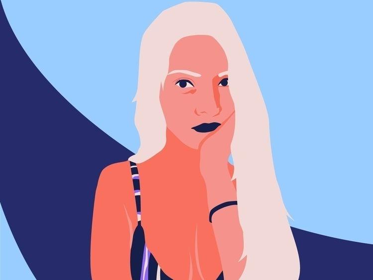 Ivón bombón  - womanillustration - yeilpz | ello