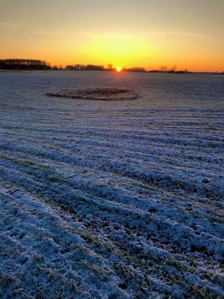 Osiek Drawski - Poland, sunrise - ivop   ello