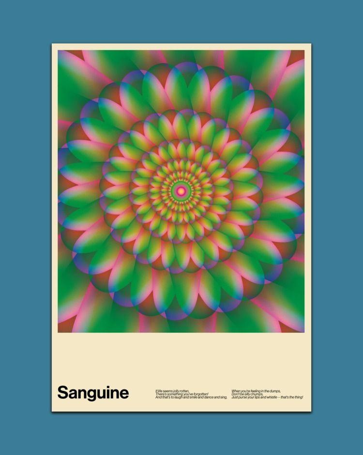 Sanguine  - poster, posterdesign - madleif   ello