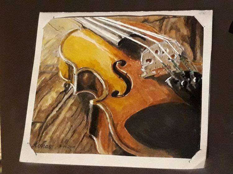 Violin- Copic marker illustrati - lucyaras   ello