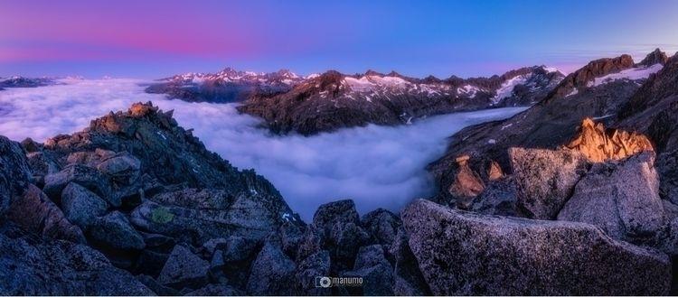 ocean clouds! wonderful sunrise - manumo_photography   ello