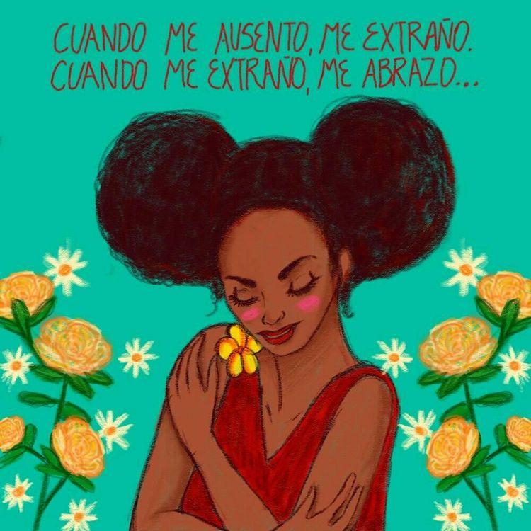 Abrazate:blossom::herb - ilustrandomusica - oscar_donado | ello