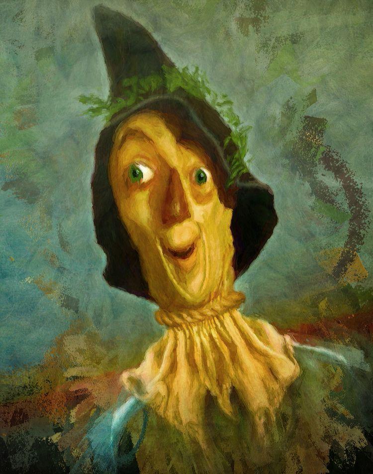 Ray Bolger | 2019 city - scarecrow - oscarmitt | ello