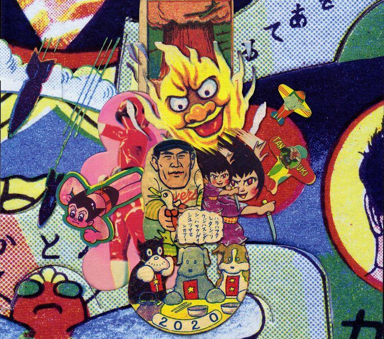2020 - santasombra,, collage, Japan - santasombra   ello