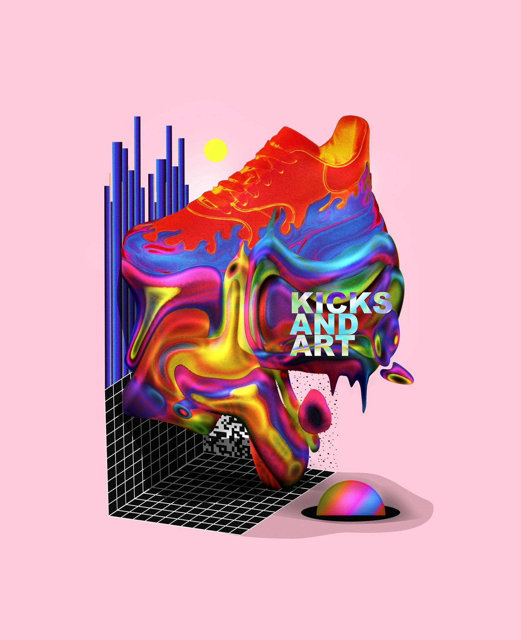 Kicks Art - wallendiaz | ello