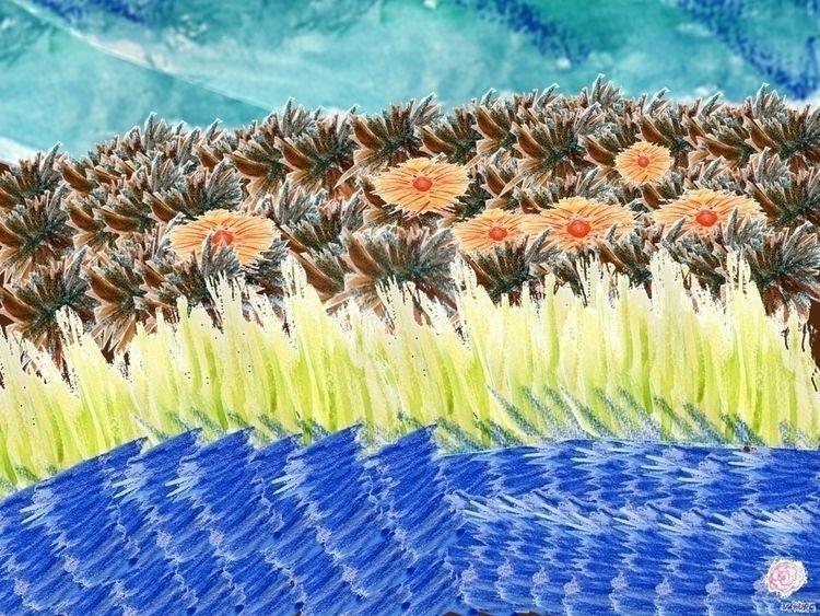SeaGarden - art, digital, aquarell - vahupe | ello