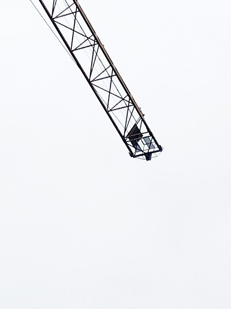 towercrane. luv - streetart, streetstyle - christianeisner   ello