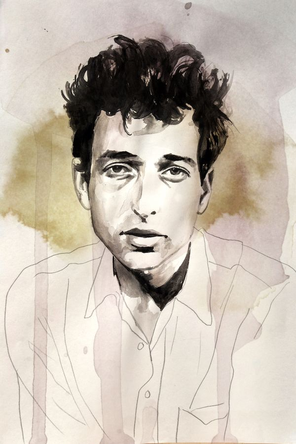 Bob Dylan Ink paper, 2018 - daviddiehl   ello